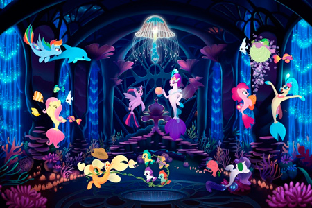 Кадр из фильма My Little Pony в кино